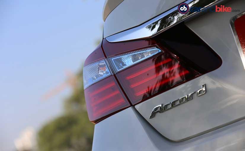 Honda Accord Hybrid Rear