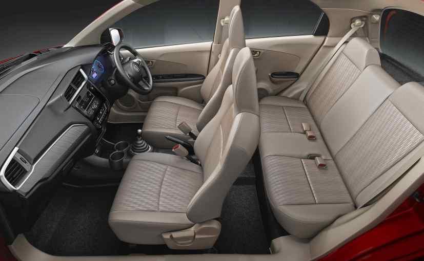 Honda Brio Facelift Interior - Beige