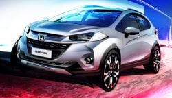 Ford EcoSport Rivaling Honda WR-V Official Sketch Revealed In Brazil