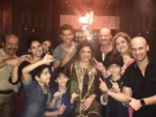 Hrithik and Sons Star in Family Pic For Rakesh Roshan's Twitter Debut