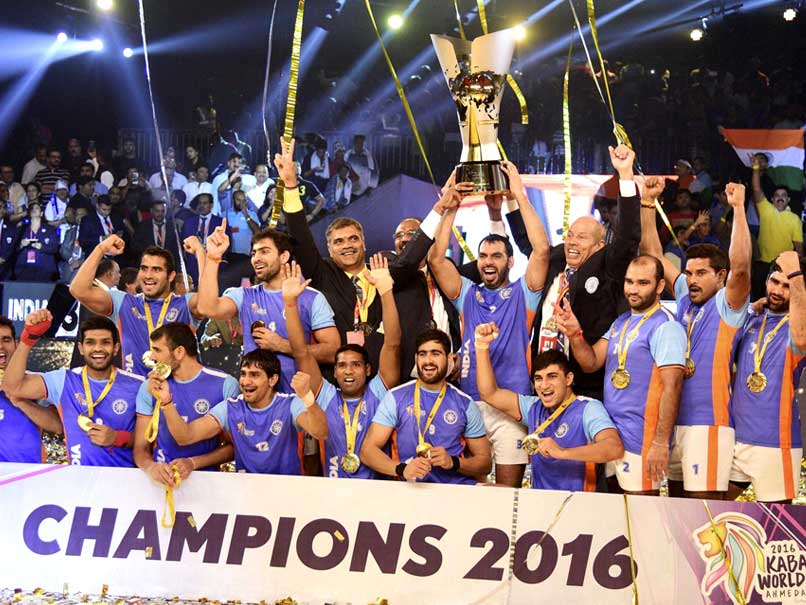 Kabaddi World Cup 2016: India Beat Iran to Clinch Title – NDTV ...