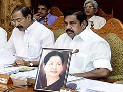Jayalalithaa's Photo And An Empty Chair Preside Over Tamil Nadu Cabinet Meeting
