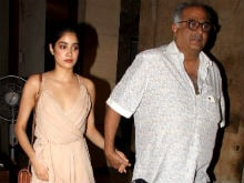 Sridevi's Daughter Jhanvi Kapoor Makes Heads Turn At Mirzya Screening