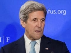 John Kerry Accuses Israeli Right Of Sabotaging Peace Process