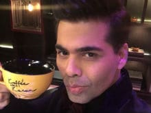 Karan Johar Starts Shooting For Koffee With Karan, Tweets Pic