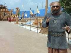 'बाहुबली' को मारने की वजह बताने से 'कटप्पा' ने भी किया इनकार! कीजिए 'बाहुबली-2' के सेट की सैर