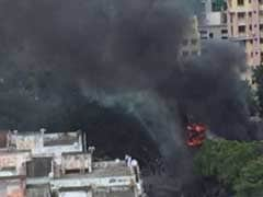 3 Dead As Huge Fire Breaks Out In Welding Shop In Kolkata's Tangra