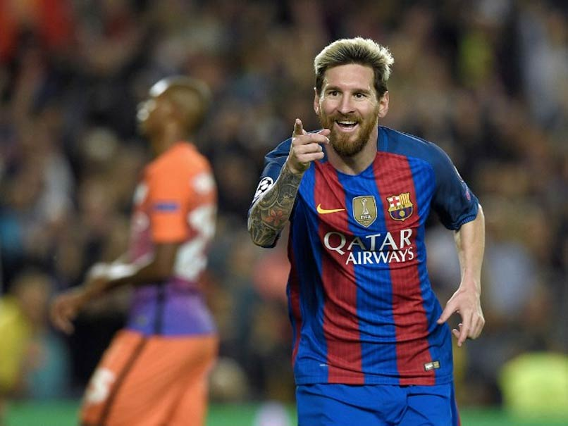 bbe1c595db9 Champions League  Lionel Messi Anchors Barcelona to 4-0 Win