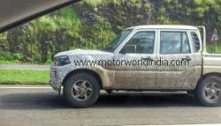 New-Gen Mahindra Scorpio Getaway Pick-Up Spotted Testing In India