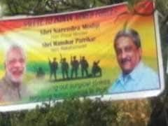 PM Modi's Warning Aside, BJP Posters Paint Triumph Of Surgical Strikes