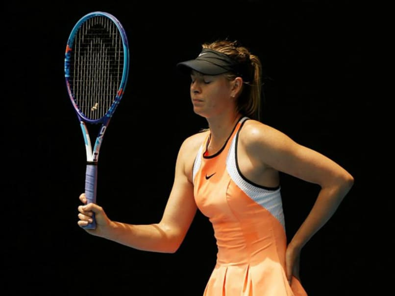 Maria Sharapova Removed From Women's Tennis Rankings