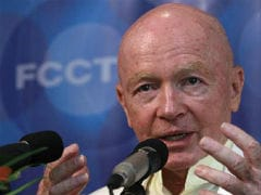 Mark Mobius Says India Top Emerging-Market Pick At The Moment