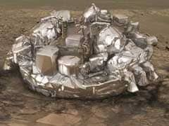 European Space Lander Left Crater On Surface Of Mars In Crash-Landing