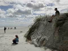 Hurricane Matthew Devastates Florida Sands Key To Protection, Tourism