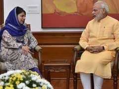 Mehbooba Mufti Calls On PM Modi, Discusses Situation In Jammu And Kashmir