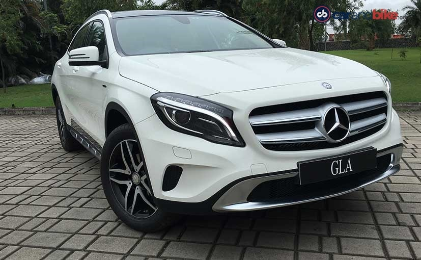 Exclusive mercedes benz gla 220d 4matic activity edition for Mercedes benz gla india