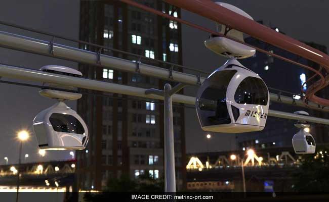 दिल्ली-हरियाणा बॉर्डर पर हवा में रस्सी के सहारे बिना ड्राइवर के चलेंगी पॉड टैक्सियां