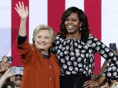 First Ladies 'Rock': Michelle Obama Stumps With Hillary Clinton