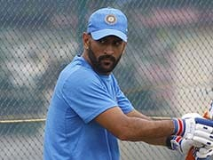 No Game Time For MS Dhoni Before First ODI vs England?