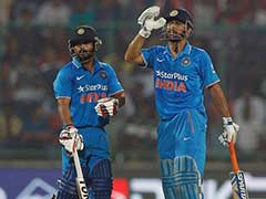 Mahendra Singh Dhoni Blames Loss of Wickets Against Run of Play For Defeat Against New Zealand