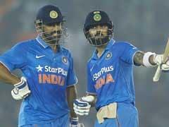 INDvsNZ ODI : कोहली के शतक, धोनी के 80 रन से इंडिया 7 विकेट से विजयी, सीरीज में 2-1 से आगे, जाधव भी छाए