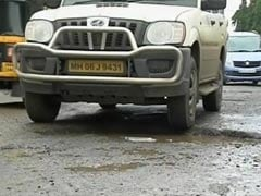Mumbai Civic Body's Job Goes Down The Drain With Potholes Filled Up By Rain Water