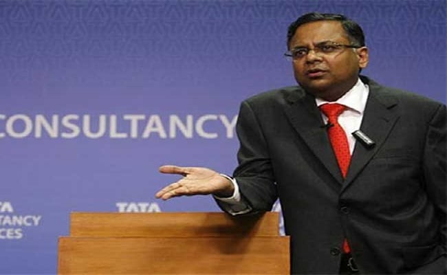TCS chief N Chandrasekaran said it has been an 'unusual Q2' for the outsourcer. (File photo)