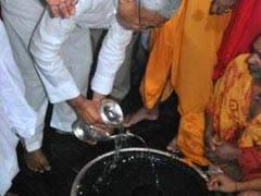 सीएम नीतीश कुमार ने बैद्यनाथ धाम में की बिहार के लिए शांति एवं समृद्धि की प्रार्थना