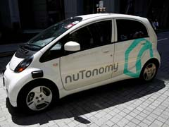 Driverless Car In Singapore Collides With Lorry, No Injuries
