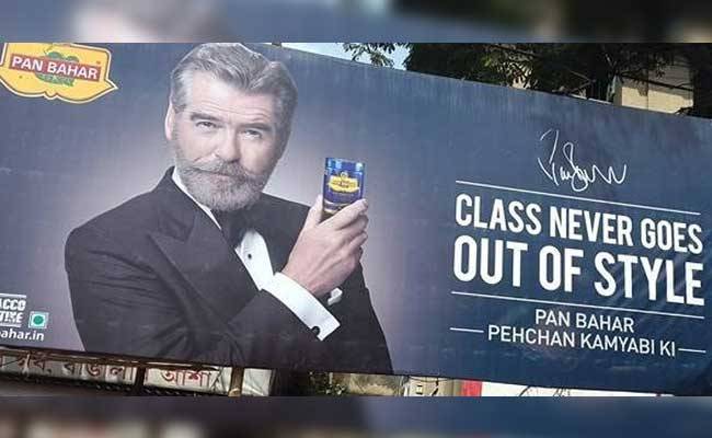 Pierce Brosnan In Pan Bahar Ad Has Everyone Talking, Bond Fans Shaken