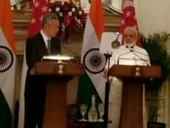 India, Singapore To Step Up Anti-Terror, Economic Cooperation