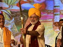 In Dussehra Speech At Lucknow, Narendra Modi Hits Out At 'Supporters Of Terror'