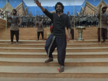 Prabhas, SS Rajamouli  On The Sets Of Baahubali: The Virtual Reality Tour