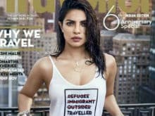 Priyanka Chopra's 'Immigrant, Refugee' T-Shirt Pushes Big Buttons