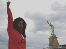 Priyanka Chopra Takes A Day Off From Quantico, Tours New York City