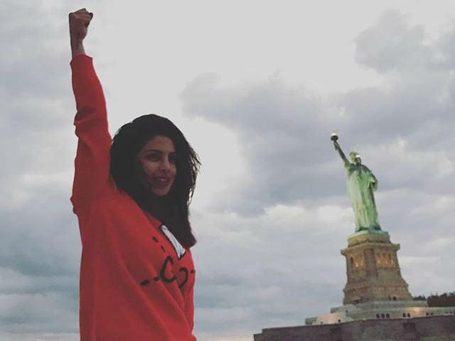 Priyanka Chopra Takes A Day Off From Quantico, Tours New York City