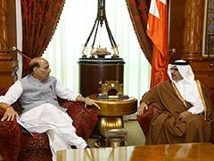 Home Minister Rajnath Singh Meets Bahrain King, Crown Prince
