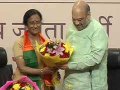 Rita Bahuguna Joshi Joins BJP With Fierce Parting Shot At Rahul Gandhi