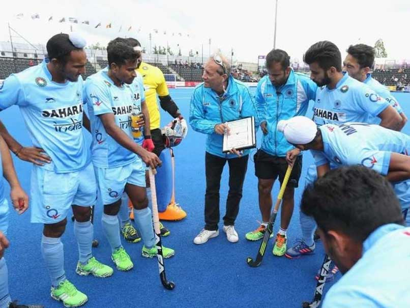 Oltmans Thanks Luck After India's Win Malaysia in Asian CT Hockey