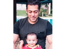 Sorry, Salman Khan. Ahil Gets the Attention in This Picture