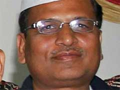 AAP Minister Satyendar Jain Appears Before Income Tax Authorities