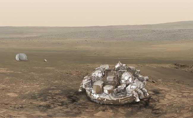 Missing Mars Spacecraft Crash-Landed, May Have Exploded, Images Indicate