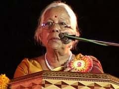 Goa's First Woman Chief Minister Shashikala Kakodkar Dies At 81