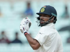 2nd Test: Shikhar Dhawan Taken to Hospital For X-Ray After Injury