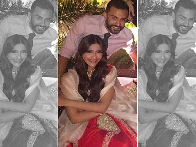 Sonam Kapoor's Rumoured Boyfriend Anand Ahuja Was At Her Cousin's Roka