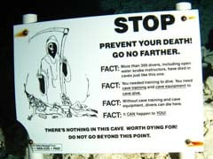 'Stop. Prevent Your Death' Said Sign At Florida Underwater Cave. These Experienced Divers Ignored It.