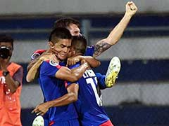 Sunil Chhetri Helps Bengaluru FC Become 1st Indian Club to Reach AFC Cup Final, Beat Johor Darul