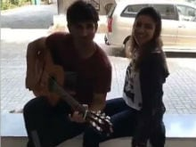Sushant Singh Rajput, Parineeti Chopra Prep For Takadum. They Look Adorable