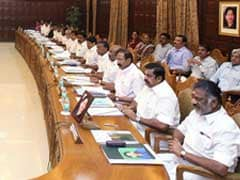 Tamil Nadu Finance Minister O Panneerselvam Holds Cabinet Meeting