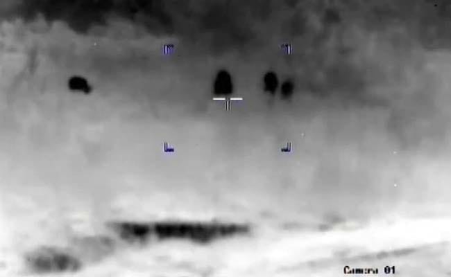 'Bombs Thrown, Pak Terrorists Duck For Cover': Thermal Images Of Infiltration Bid
